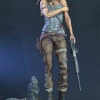 Lara Croft Survivor Statue