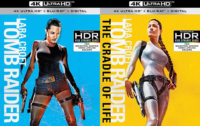 Lara Croft Tomb Raider 4K Ultra HD Blu-ray