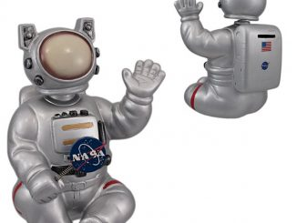 Large Bobble Head NASA Astronaut Coin Bank