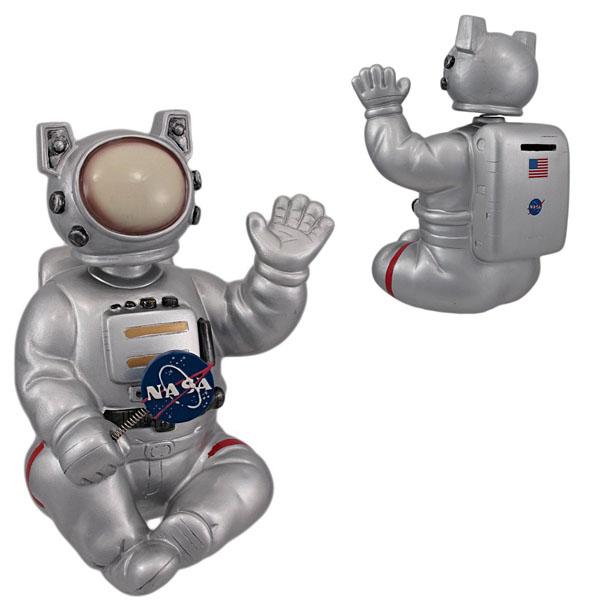 Large Bobble Head NASA Astronaut Coin Bank