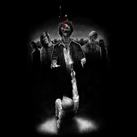 Last Bullet Zombie Shirt