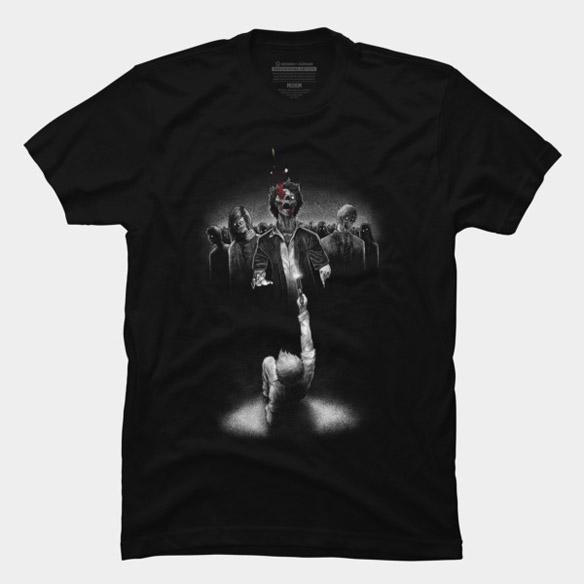 Last Bullet Zombie T-Shirt
