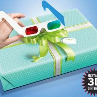 Lazy Bows 3D Wrapping Paper