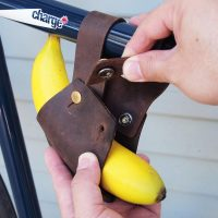 Leather Bike Banana Holder