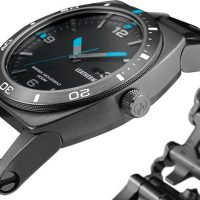 Leatherman Tread Tempo Watch Detail Black
