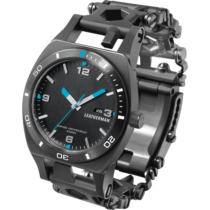 Leatherman Tread Tempo Watch Multi Tool Black