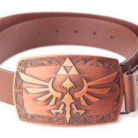 Legend Of Zelda Buckle And Belt with Hyrule Crest