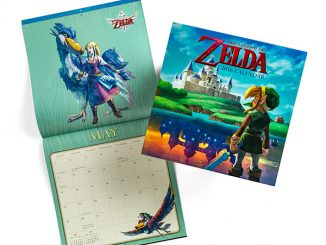 Legend of Zelda 2016 Wall Calendar