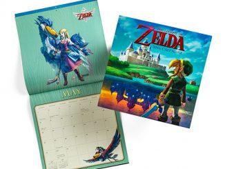 Legend of Zelda 2016 Wall Calendar