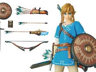 Legend of Zelda Breath of the Wild Link Real Action Hero Figure