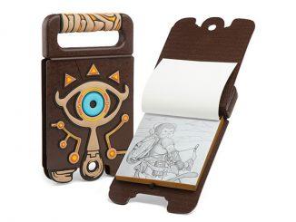 Legend of Zelda Breath of the Wild Sheikah Slate Sketchbook