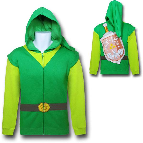 Legend of Zelda Costume Hoodie