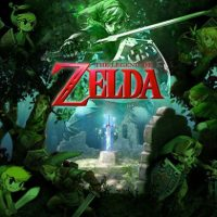 Legend of Zelda Forest of Link Poster