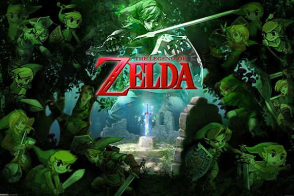 Legend of Zelda Forest of Link Poster