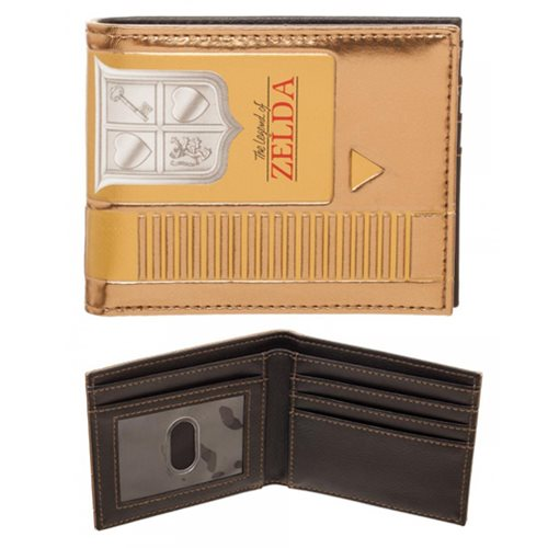 Legend of Zelda Gold Cartridge Bi-Fold Wallet