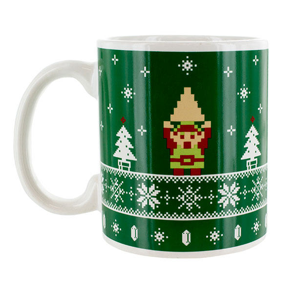 Legend of Zelda Holiday Mug
