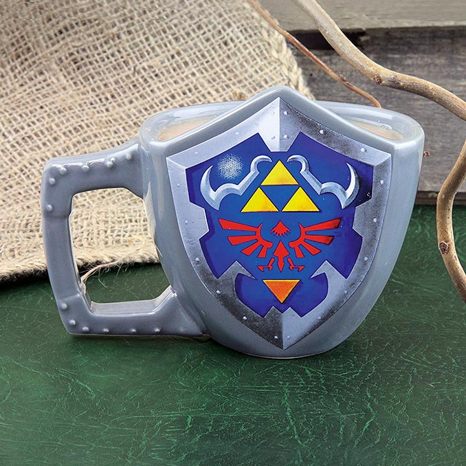 Legend of Zelda Hylian Shield Coffee Mug