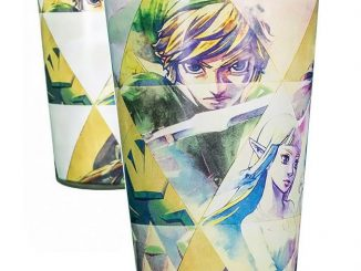 The Legend of Zelda Hyrule Color Change Pint Glass