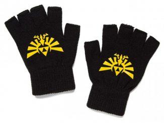 Legend of Zelda Knit Fingerless Gloves