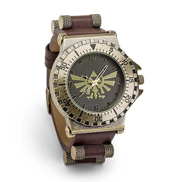Legend of Zelda Leather Watch