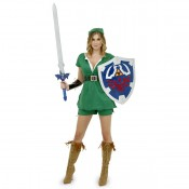 Sexy Legend of Zelda Link Costume