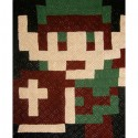 Legend of Zelda Link Custom Pixelated Blanket