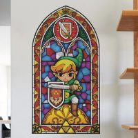 Legend of Zelda Stained Glass Wall Decals