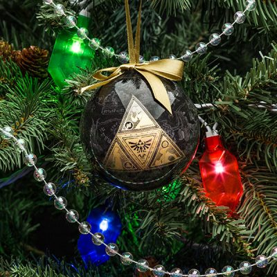 Legend of Zelda Symbol 4pk Ornaments