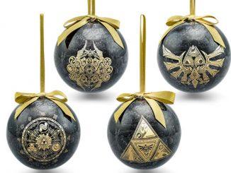 Legend of Zelda Symbol 4pk Ornaments