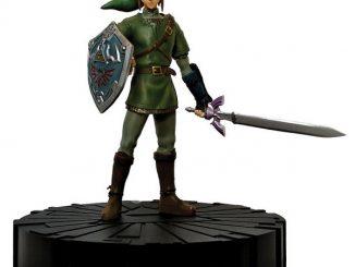 Legend of Zelda Twilight Princess 10-Inch Link Statue