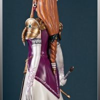 Legend of Zelda Twilight Princess Statue Back Detail
