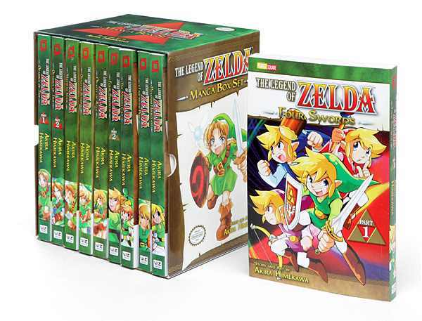 Legend of Zelda Ultimate Manga Box Set