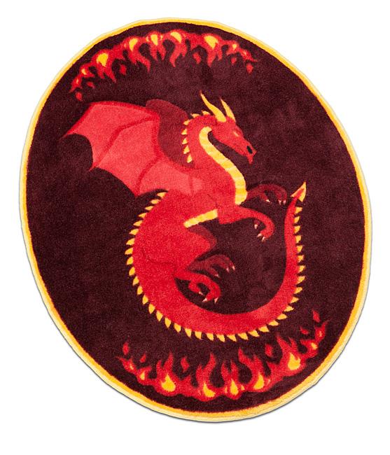 Legendary Dragon Rug