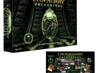 Legendary Encounters An Alien Deck Building Card Game