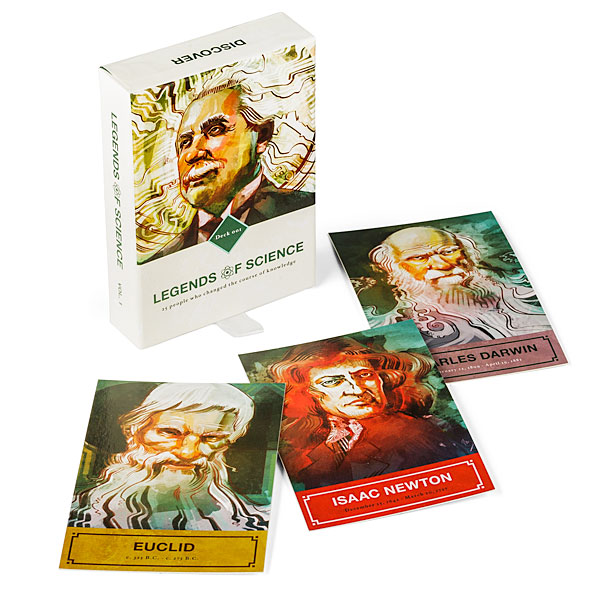 Legends of Science Flashcards