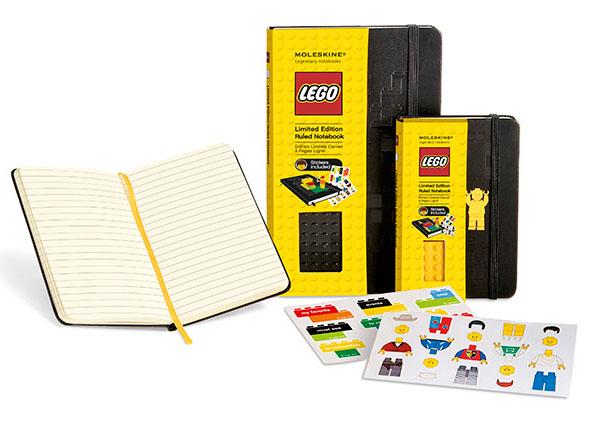 Lego Limited Edition Moleskine Notebooks