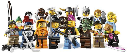Lego Mini Series 4 Blindbox8