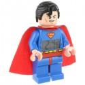 Lego Minifigure Superman Clock