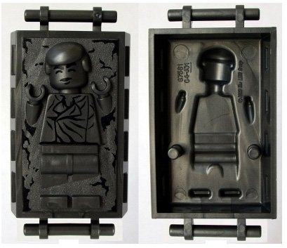 Lego Star Wars Han Solo in Carbonite Minifigure