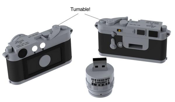Leica-Miniature-M3-16GB-Flash-Drive