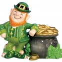 Leprechaun & Pot of Gold - Salt & Pepper Shakers