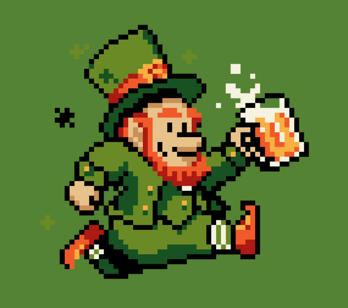 Leprechaun St. Patrick's Day T-Shirt