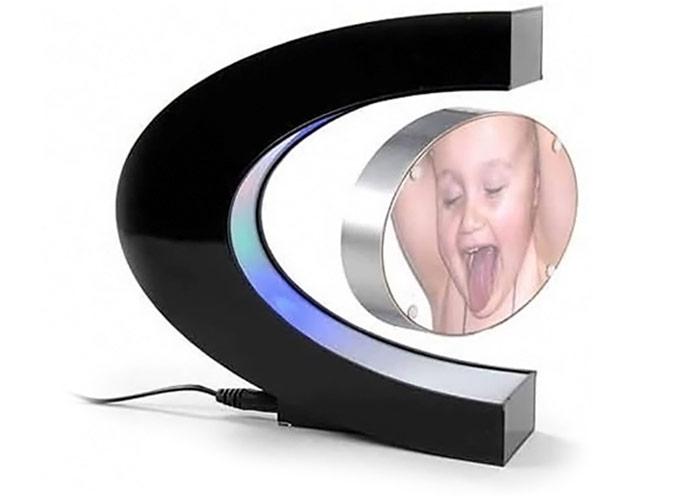 Levitating Multicolored LED Photo Frame