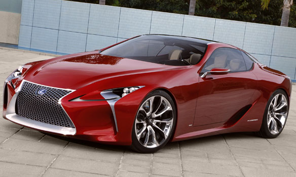 Lexus LF-LC hybrid sport coupe concept vehicle
