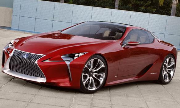 Lexus LF-LC hybrid sport coupe concept vehicle
