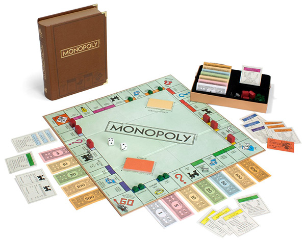 Library Classic Edition Monopoly Game