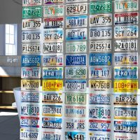 License-Plate-Shower-Curtain
