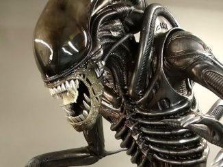 Life Size Alien Figure