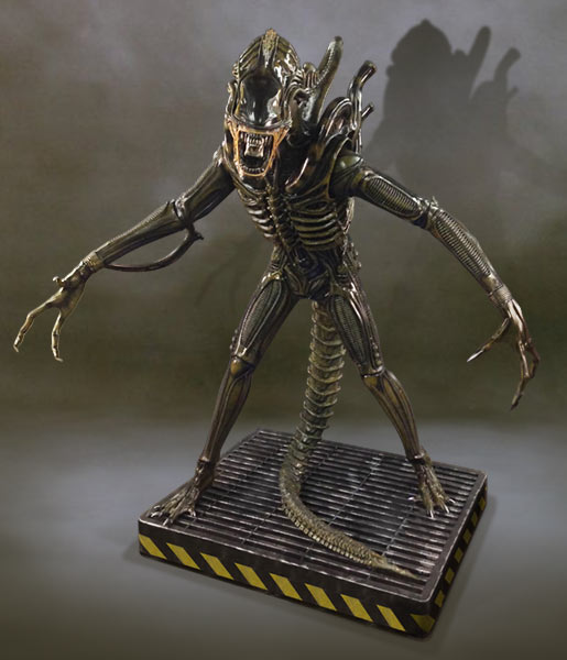 Life-Size Alien Warrior Statue