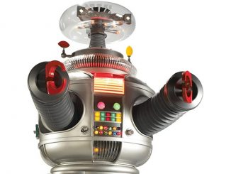 Life-Size Lost In Space B-9 Robot
